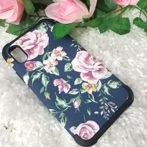 Accessories - Apple iPhone X Case Cute Pink Flower